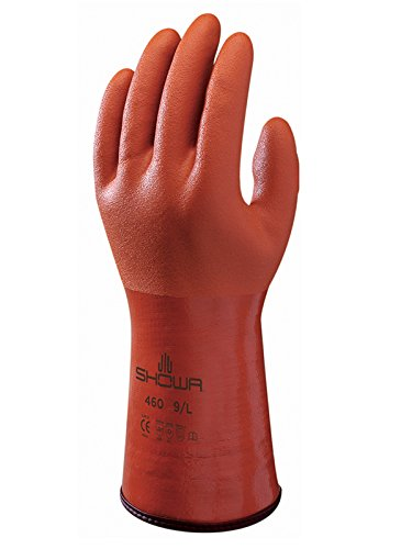 Showa Gants Sho460-l N ° 460 isolée Gant, taille : L, Orange taille : L Showa Gloves