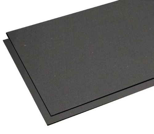 RB Rubber RB Black Rubber Mat – 4′ x 8′ x 3/4″
