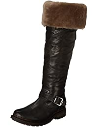 Women's Valerie Shearling Over-The-Knee Riding Boot