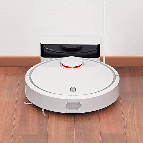 SCKL Aspirateur Robot, Nettoyage De Tapis Intelligent Poussière Balaient Humide Mopping Robotique Prévu Clean