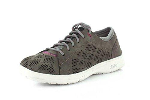 Truflex Toe Nbk W Shoes Lace Women's Stone Dk Rockport To B7x5fqnA