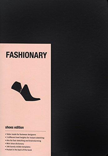 Fashionary Shoe Sketchbook pdf epub