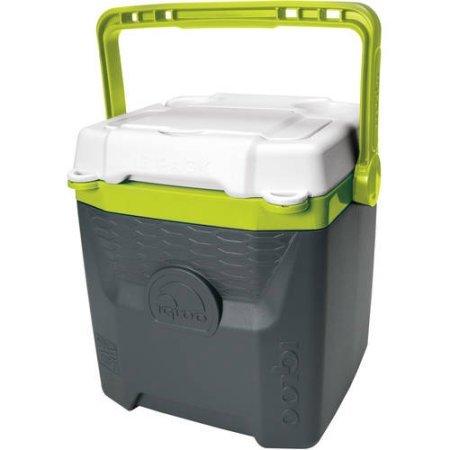 igloo-12-quart-quantum-cooler-gray-lime-green
