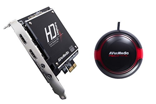AVerMedia Live Gamer HD, Game Capture and Streaming in High Definition 1080p, Reduce CPU Usage, Ultra Low Latency, H.264 Hardware Encoding HD Game Recorder, PCIe, (C985)