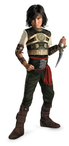 (Prince Of Persia Dastan Deluxe Costume Child Medium)