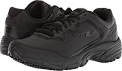 Feel comfortable without sacrificing performance and protection in your work day with the Fila Memory Fresh Start 2 slip resistant safety shoe. Where premium meets utility, the Memory Fresh Start 2 is constructed from durable leather and mesh...