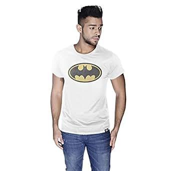 Creo Batman Yellow T-Shirt For Men - M, White