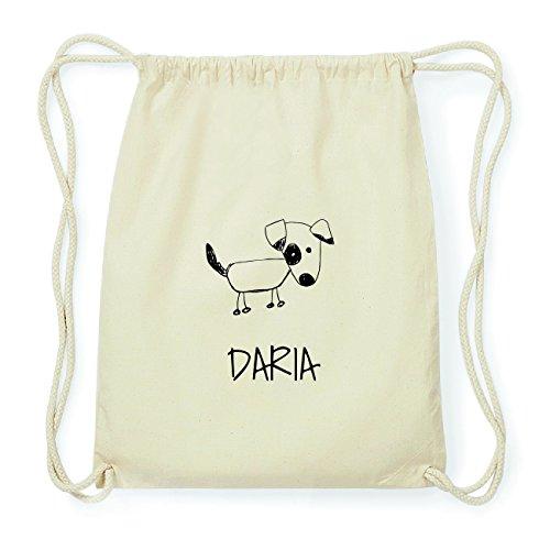 JOllipets DARIA Hipster Turnbeutel Tasche Rucksack aus Baumwolle Design: Hund Ey40j
