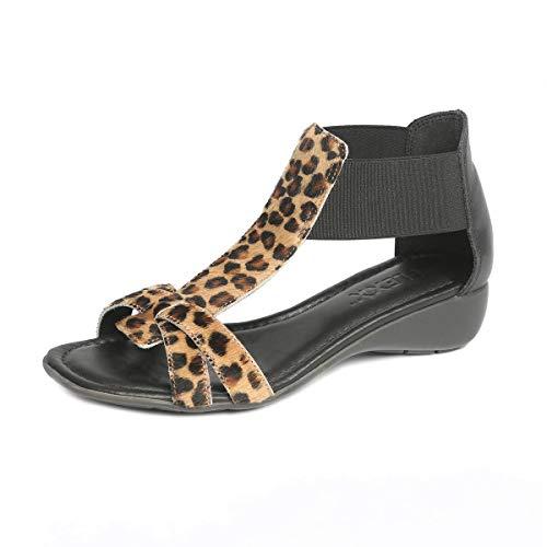 (The FLEXX Footwear Women's Band Together Jaguar Cavalino Sandal Size 6.5 )