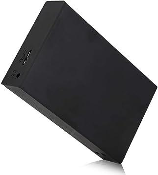 Bewinner Caja de Disco Duro Externo, Caja de Disco Duro Raid para computadora móvil con aleación de Aluminio USB 3.0 de 2.5 Pulgadas, Soporte Raid/Raid y JBOD/Span, diseño sin Herramientas: Amazon.es: Electrónica