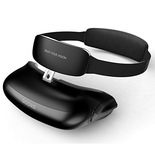 "GOOVIS Virtual Reality Travel 3D Theater VR Glasses 800"" HD Giant Screen Advanced HD 4K Sony OLED Micro display with Resolution 1920x1080x2 by GOOVIS"
