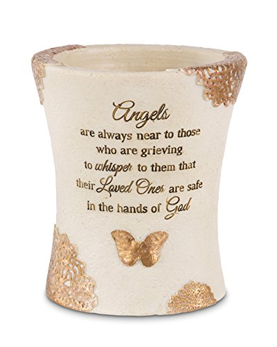 (Pavilion Gift Company 19103 Angels are Always Near Vase, 5-1/2