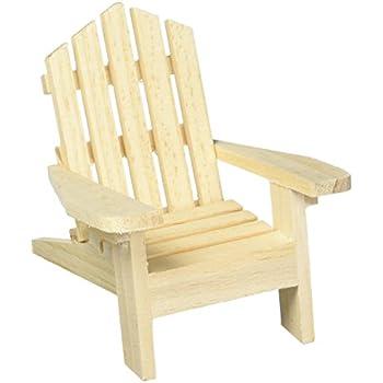 Darice 9132 67 Small Adirondack Wood Chair