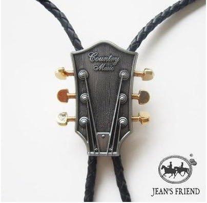 corbata de bolo cordón oeste guitarra antiguo plata: Amazon.es: Hogar