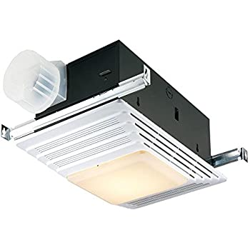 Broan-NuTone 655 Bath Fan and Light with Heater, 70 CFM 4 ...