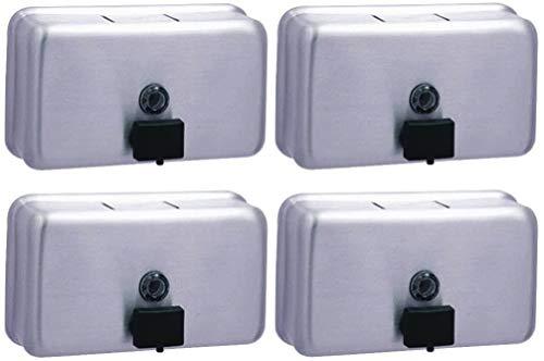 Bobrick Washroom Equipment B-2112 Liquid Soap Dispenser (Pack of 4) ()