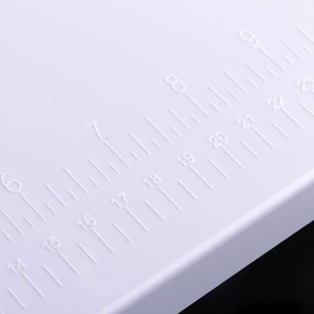IPOTCH Anschiebetisch f/ür N/ähmaschine Universal 35x25cm