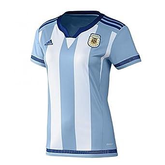 adidas Women s Argentina Home Football Jersey  Amazon.co.uk  Clothing c3a27b654