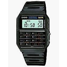 Casio Men's Twincept Databank Ani-Digi Resin Watch Black CA-53W-1Z