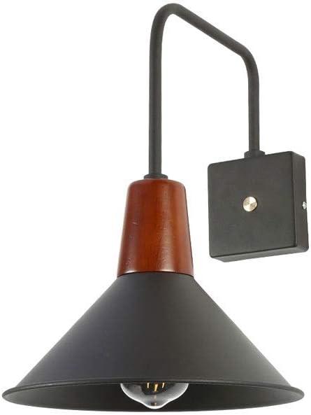 Luces de pared de metal Negro antiguo con el viento industrial interruptor apliques de la pared de la vendimia lámpara de cabecera de la lámpara Balcón Nordic Light libro de lectura lámpara