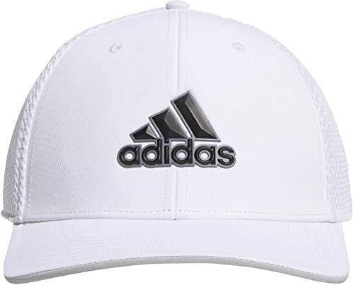 adidas Golf 2019 Mens A-Stretch Tour Golf Cap Breathable Mesh Hat White S/M