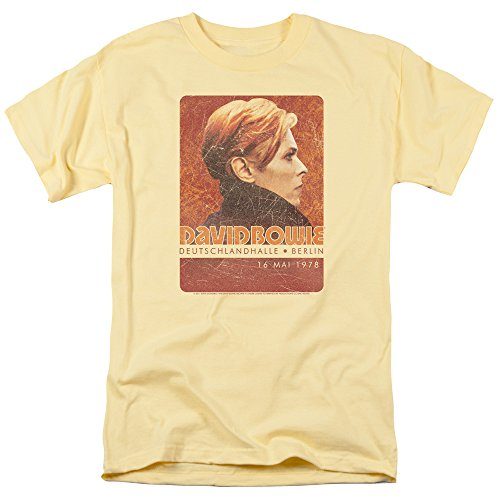 David Bowie - Stage Tour Berlin '78 - Adult T-Shirt - Small
