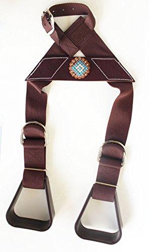 - Horse Saddle Western Show Buddy Stirrups Kids Child Youth Pony Rodeo 5138CO504