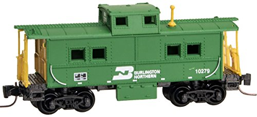 Caboose Northern Burlington - Micro-Trains MTL Z-Scale Center Cupola Caboose Burlington Northern/BN #10279