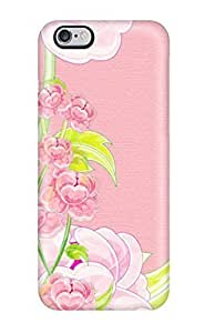 Flower Protective Case Cover For Apple Iphone 4/4S Classic Hardshell Case