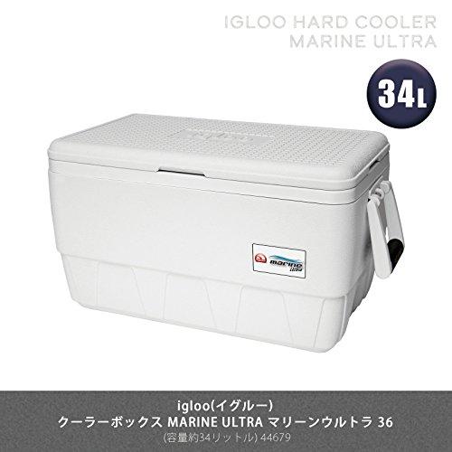 Igloo Marine Ultra Cooler (White, 48-Quart)