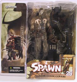 McFarlane Toys Spawn Classic Covers Series 25 Action Figure Hellspawn (Classic Comic Covers Mcfarlane Toys)