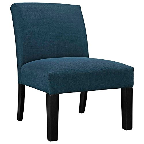 Fabric Armchair Dimensions: 29.5''W x 25''D x 34.5''H Weight: 28 lbs Azure by Modway