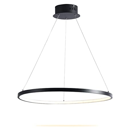 Modern Led Ceiling Chandelier Lamp Fixtures Square Circle Rings Chandelier For Living Room Bedroom Home Ac85-265v Beautiful In Colour Ceiling Lights