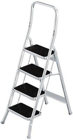 SCAB Giardino 761 Escalera plegable Aluminio escalera - Escalera de mano (157 cm, 150 kg, 86 mm, 525 mm, 90 mm, 1665 mm): Amazon.es: Bricolaje y herramientas