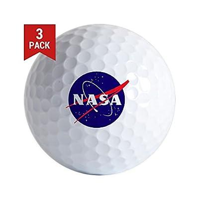 CafePress - NASA Meatball Logo - Golf Balls (3-Pack), Unique Printed Golf Balls