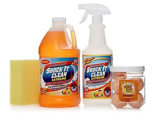 (Professor Amos Shock It Clean Extreme 128 oz. Multipurpose Kit~ Citrus Zest )