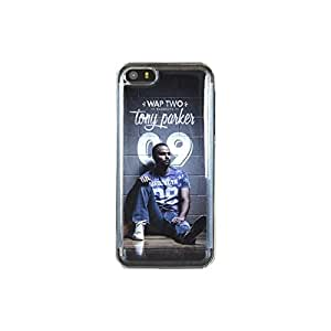 Carcasa rígida, diseño de Tony Parker, Wap, Two Brooklin para iPhone 5/5S/5C