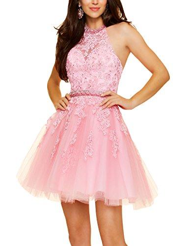 Mall rosa Bridal 34 Donna linea ad a Vestito UxYwd8Yq