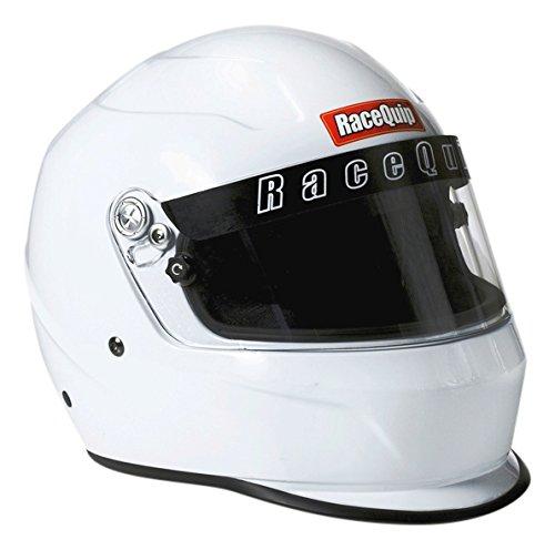 RaceQuip 273118 Gloss White XXX-Large PRO15 Full Face Helmet (Snell SA-2015 -