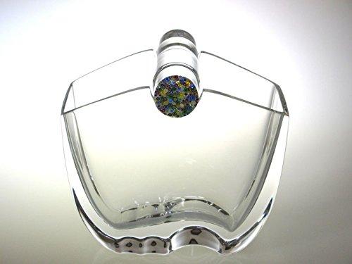 バカラ 花瓶 ● オセアニア フラワーベース ヴェース クリア クリスタル 万華鏡 飾り蓋 Oceania B07CLGTJN3