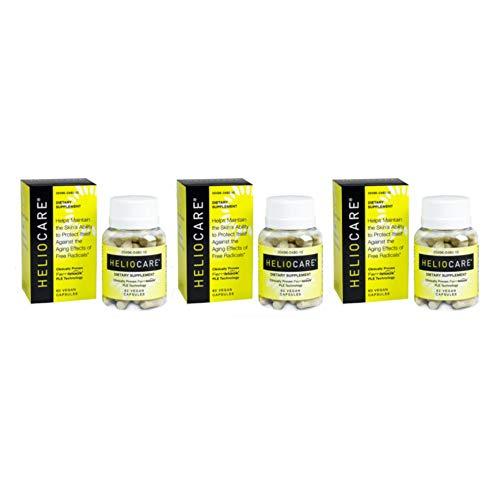 - Heliocare Skin Care Formula - 60 Vegan Capsules each (Value Pack of 3)