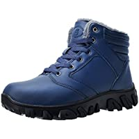Deals on Barerun Fur Lined Warm Outdoor Hiking Waterproof Snow Boots