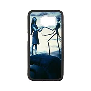 The Nightmare Before Christmas Samsung Galaxy S6 Cell Phone Case White Dbutz