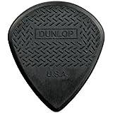 Dunlop 471P3C Max Grip Jazz III Carbon Fiber Guitar Picks, 6-Pack