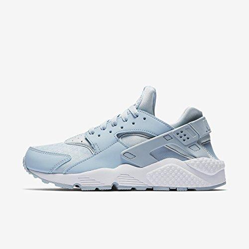 Nike WMNS AIR HUARACHE RUN zapatillas de moda para mujer 634835-407_12 - LT ARMORY BLUE / LT ARMORY BLUE-WHITE