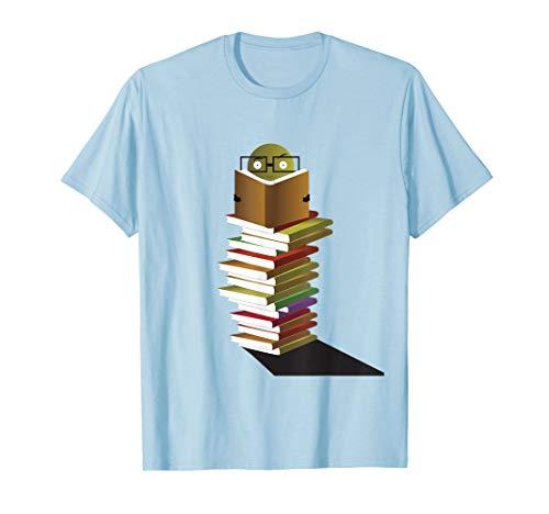Cute Bookworm T-Shirt
