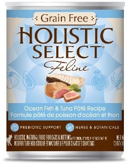 Dogswell Holistic Select Grain Free Ocean Fish Tuna Pate 12 13 oz Cat Food, 1 Pack, One Size
