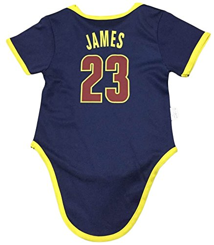 Amazon.com  iSport Gifts James Basketball Jersey Lebron Baby Infant    Toddler Onesies Rompers Pack of 2 Home   Away Jersey Design Bundle  Sports    Outdoors 6a92cc3af