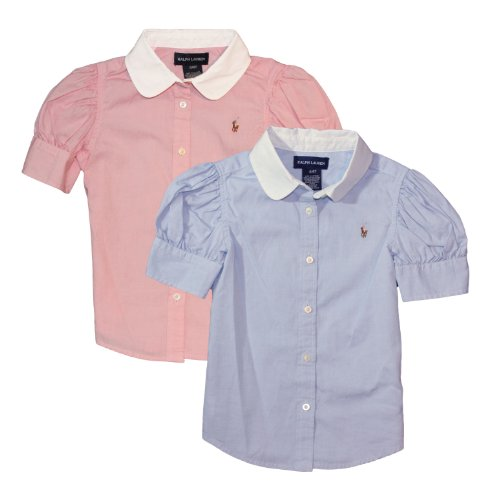 Ralph Lauren Toddler Girl's Pinpoint Oxford Shirt