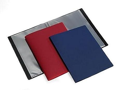 10 pochettes 20 vues HF2 Prot/ège-documents Flex A4 119148 rouge